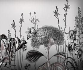 24 Flower Photoshop Brushes