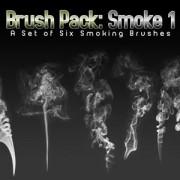Link toSix smoke photoshop brushes
