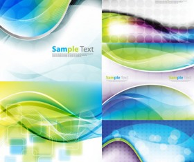 Abstract colored dynamic background 2 design vector