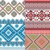 Pixel decorative pattern background
