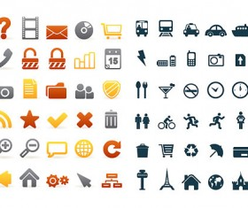 Simple common Icon vector
