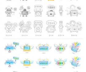 Electronic products Icon vector