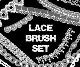 Lace Brush Set Photoshop Brushes