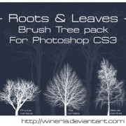 Link toTree brushes pack photoshop brushes