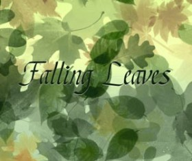 Falling Leaves Photoshop Brushes