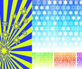 Star style background design vector