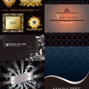 Link toGorgeous decorative background design elements
