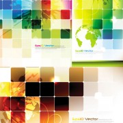 Link toAbstract colored lattice background