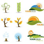 Link toIcon and logo trees vector