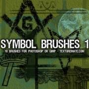 Link toSymbols 1 brush pack photoshop brushes