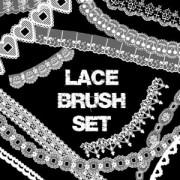 Link toLace brush set photoshop brushes