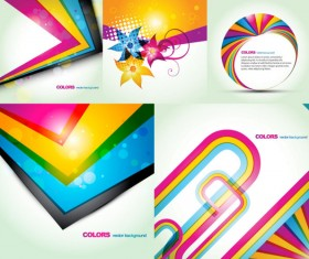 Fashion color background vector art