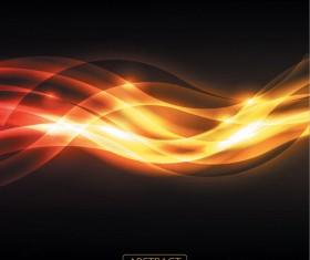 Orange glare background 3 Vector graphic