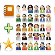 Link to3 sets of commonly used icons vector