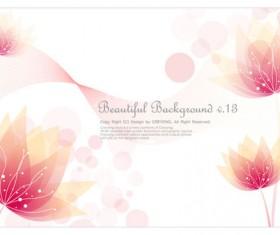 Pink fantasy flower art