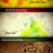 Link toColorful and elegant background design vector