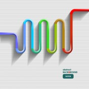 Link to3d line vector backgrounds 03