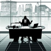 Link toVector silhouettes of office work set 04