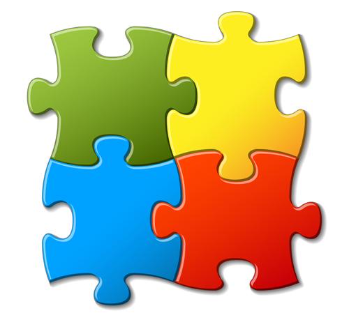 Color Puzzle background 03