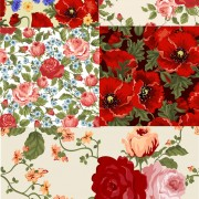 Link toBeautiful flowers backgrounds art vector