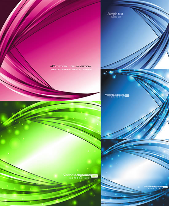 Creative fringe lines background vector