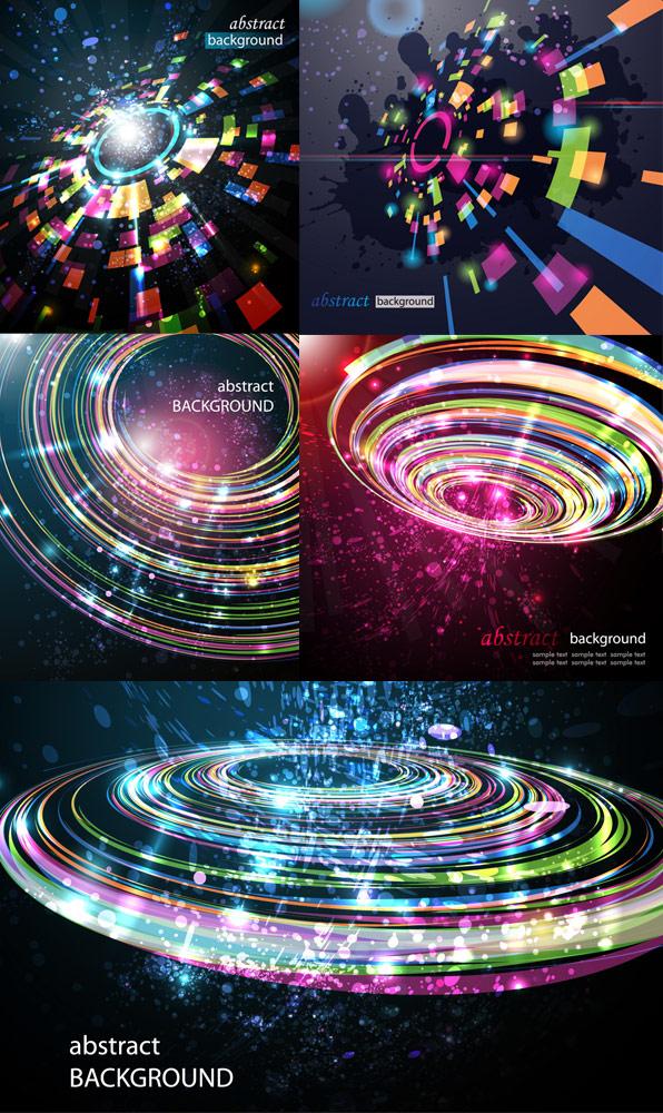 Light Dynamic technology background