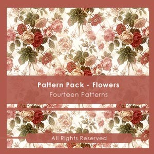 Pattern Pack  FLOWERS
