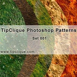 TipClique Photoshop Patterns