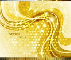 Golden background design vector