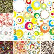 Link toColorful pattern background design vector