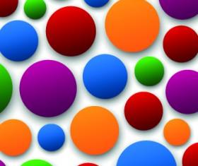 3D shapes background 05