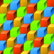 Link to3d geometric shapes backgrounds 03