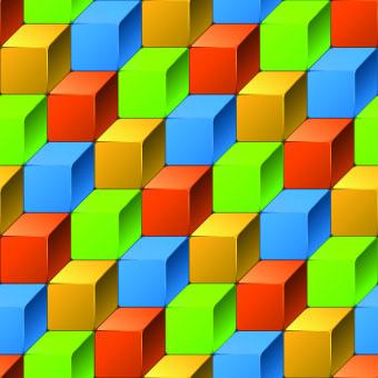 3d geometric shapes backgrounds 03 – Over millions vectors