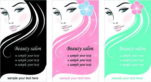 Woman With Beauty Salon Vector 01 Free Download