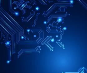 Shiny Blue technology style backgorund 04
