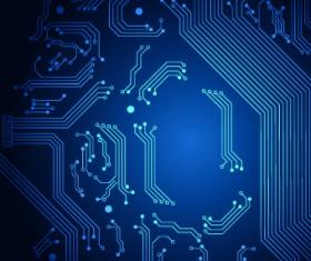 Shiny Blue technology style backgorund 05