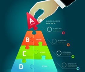 Concept Business infographics vector 02