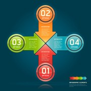 Link toConcept business infographics vector 03
