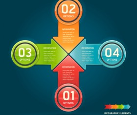 Concept Business infographics vector 03