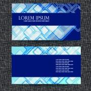 Link toBlue style business cards design vector 03