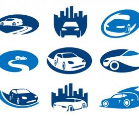 Creative Car logos design vector 01