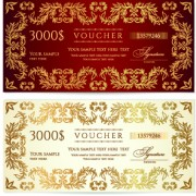 Link toCertificate coupon design template vector 03