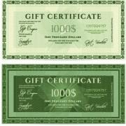 Link toCertificate coupon design template vector 04