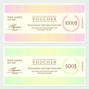 Link toCertificate coupon design template vector 05
