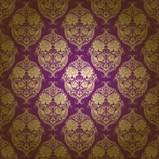 Link toClassic floral pattern vector 02