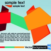 Link toColored origami vector backgrounds 02