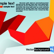 Link toColored origami vector backgrounds 03