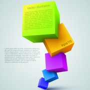 Link toColor cubes backgrounds illustration 01