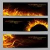 Vector Fire Backgrounds 03