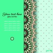 Link toFloral background with you text vector 05
